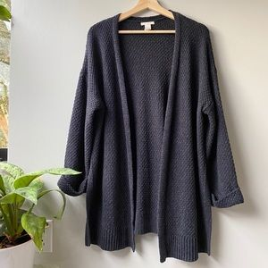 H&M Navy Cardigan